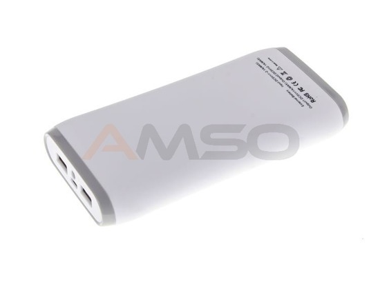 Power Bank Green Cell PB25 18000mAh biało-szary