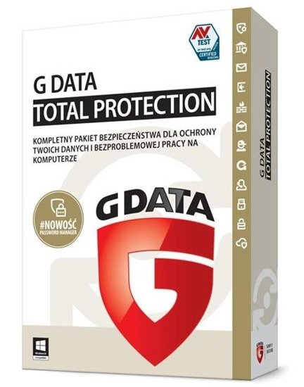 G Data Total Protection 2PC 2LATA BOX