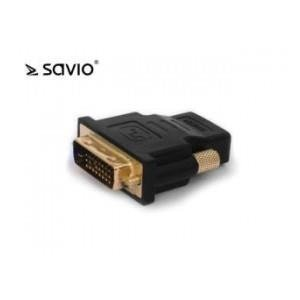 ADAPTER HDMI - DVI SAVIO CL-21