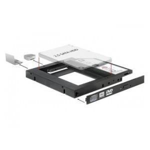 "ADAPTER RAMKA 5,25"">HDD2,5"" SLIM SATA (SSD 22pin) DELOCK"
