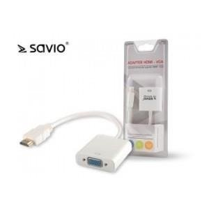 Adapter HDMI - VGA SAVIO CL-27