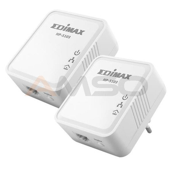 Adapter Powerline Edimax HP-5103K 500Mbps 1xLAN AC 2szt