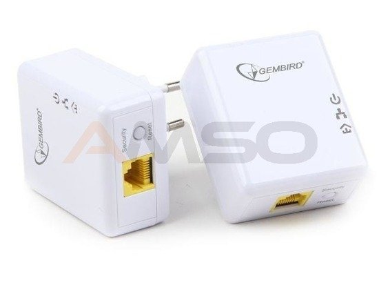 Adapter Powerline GEMBIRD NIC-HP-004 500Mbps 1xLAN GB 2szt