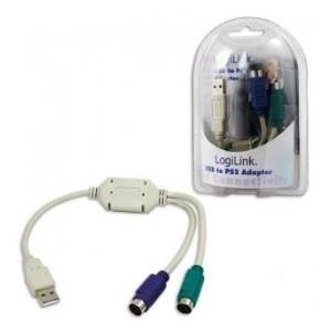 Adapter USB LogiLink AU0004A USB > 2x PS/2