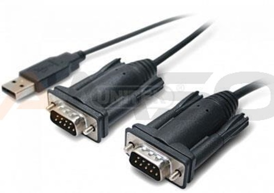 Adapter Unitek USB do 2xRS-232 Y-106
