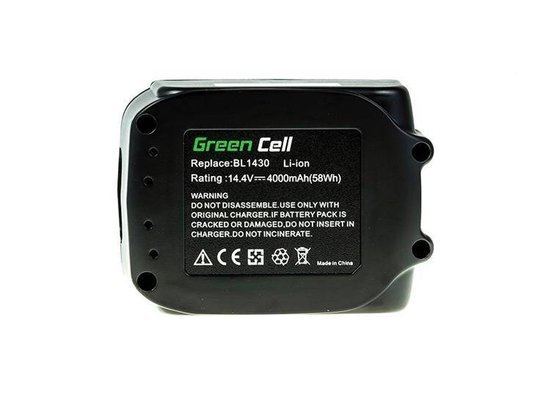 Akumulator Bateria Green Cell Makita BL1440 14.4V 4Ah