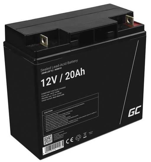 Akumulator żelowy AGM Green Cell 12V 20Ah