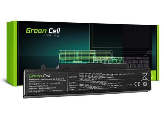 Bateria Green Cell AA-PB9NC6B AA-PB9NS6B do Samsung R519 R520 R522 R530 R540 R580 R780 11.1V 6 cell
