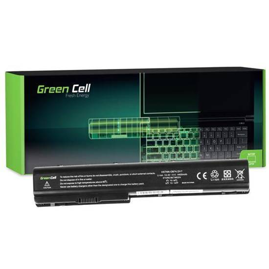 Bateria Green Cell HSTNN-IB75 do HP Pavilion DV7 DV8 14.4V 8 cell