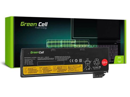 Bateria Green Cell do Laptopa Lenovo ThinkPad L450 T440 T440s T450 T450s T550 X240 X240s X250
