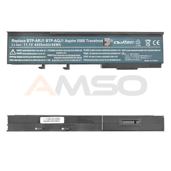 Bateria Qoltec do Acer Aspire 5560, 4400mAh, 11.1V