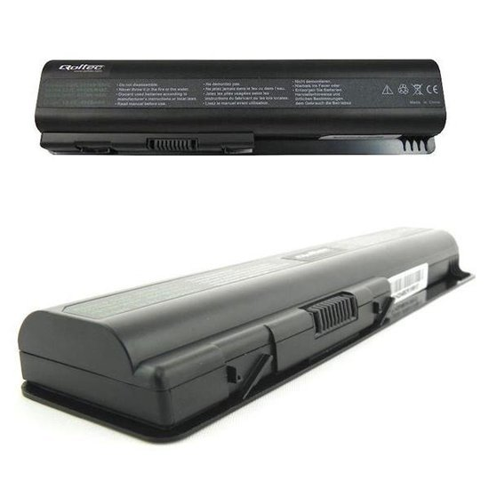 Bateria Qoltec do noteb. HP CQ40/DV4, 4400mAh,10.8-11.1V