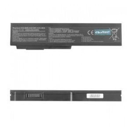 Bateria Qoltec do notebooka - Asus N61JV, 4400mAh, 10.8-11.1