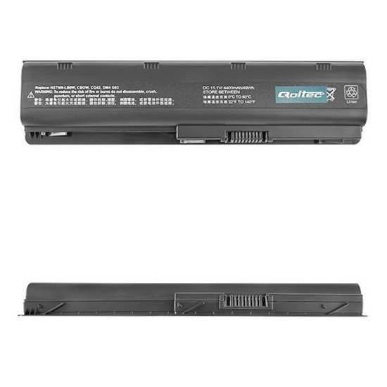 Bateria Qoltec do notebooka - HP/Compaq CQ62, 4400mAh, 10.8-
