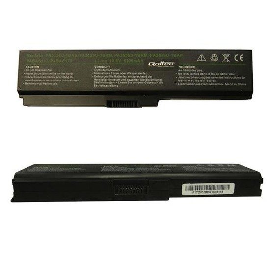 Bateria Qoltec do notebooka - Toshiba PA3634, 5200mAh, 10.8-