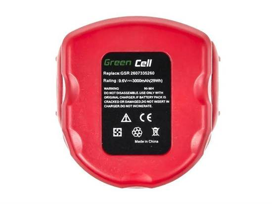 Bateria akumulator Green Cell Bosch O-Pack GSR 9.6VE2 PSR 9.6VE-2 9.6V