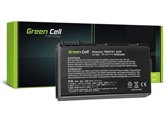 Bateria akumulator Green Cell do laptopa Acer Extensa 5220 5620 5520 7520 GRAPE32 11.1V 6 cell
