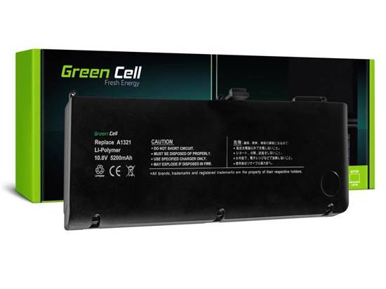 Bateria akumulator Green Cell do laptopa Apple MACBOOK PRO 15 A1321 MB985 (Mid 2009 - Mid 2010)