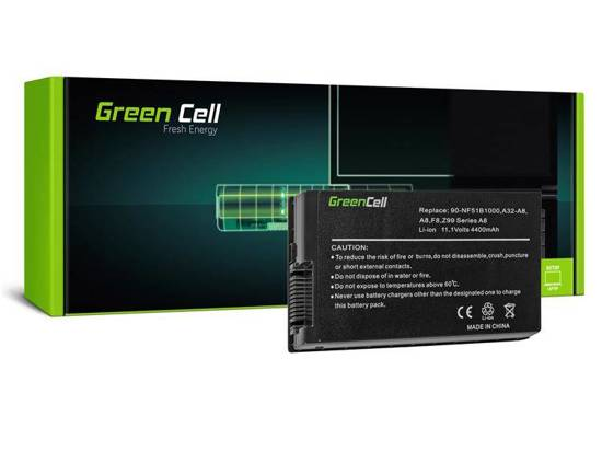 Bateria akumulator Green Cell do laptopa Asus A32-A8 A8 A8E A8F A8H A8J 11.1V