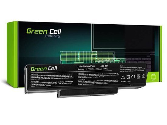 Bateria akumulator Green Cell do laptopa Asus A32-F3 A9 F2 F3SG F3SV X70 SQU-503 SQU-511 SQU-524 11.1V 6 cell
