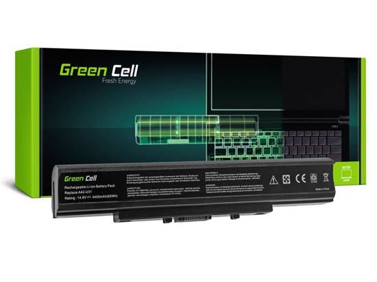 Bateria akumulator Green Cell do laptopa Asus A32-U31 P31 P41 U31 U41 X35 14.4V 8 cell