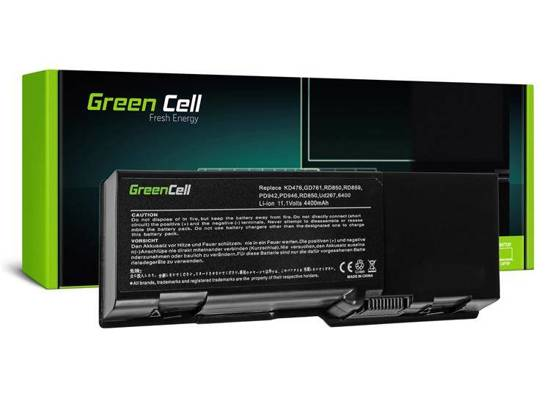 Bateria akumulator Green Cell do laptopa Dell Inspiron 1501 6400 E1505 1000 11.1V 6 cell