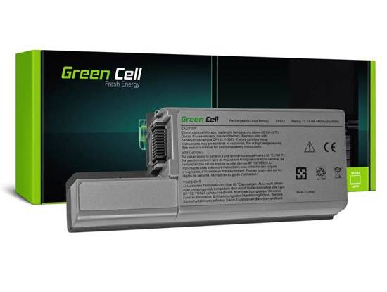 Bateria akumulator Green Cell do laptopa Dell Latitude XF410 YD632 D531 D531N D820 D830 11.1V 6 cell
