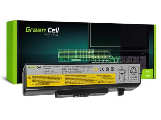 Bateria akumulator Green Cell do laptopa Lenovo IBM Ideapad G480 V480 Y480 Y580 10.8V