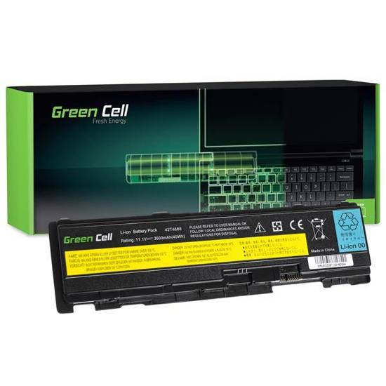 Bateria akumulator Green Cell do laptopa Lenovo IBM Thinkpad T400s T410s T410si 11.1V