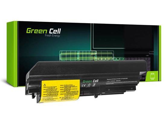 Bateria akumulator Green Cell do laptopa Lenovo IBM Thinkpad T61 R61 T400 R400 WIDE 10.8V 6 cell