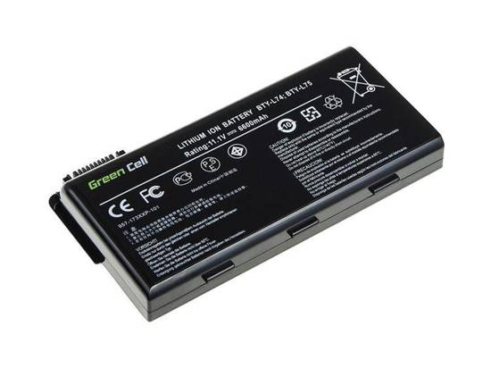 Bateria akumulator Green Cell do laptopa MSI CR500 CR600X CR610 CR630 CR700 BTY-L74 BTY-L75 11.1V 9 cell