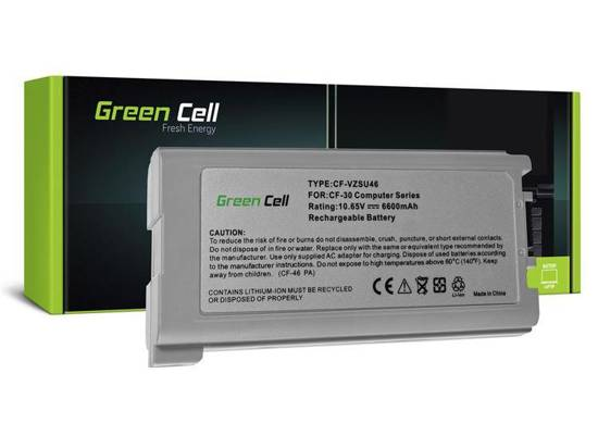 Bateria akumulator Green Cell do laptopa Panasonic CF-30 CF-53 CF-VZSU46U 9 cell 10.65V
