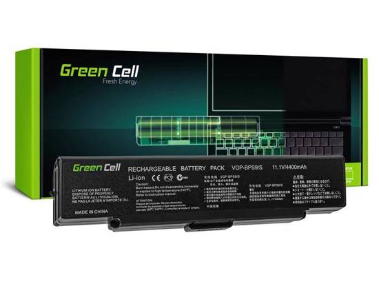 Bateria akumulator Green Cell do laptopa Sony Vaio VGP-BPS9A/B VGP-BPS10 VGP-BPS9B 11.1V 6 cell CZARNA