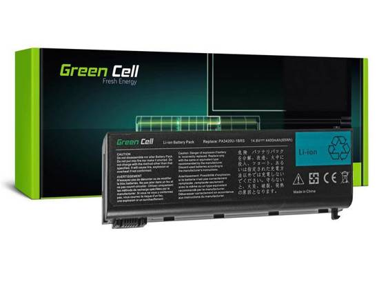 Bateria akumulator Green Cell do laptopa Toshiba Satellite L25 L30 L35 L40 L100 PA3420U-1BRS 14.4V