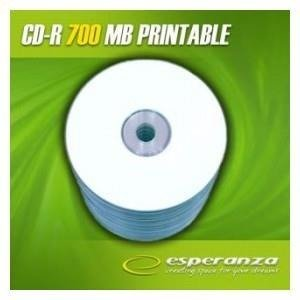 CD-R ESPERANZA 56x 700MB (Spindle 100) PRINTABLE