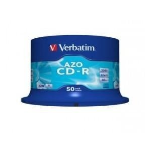 CD-R Verbatim 52x 700MB (Cake 50) CRYSTAL