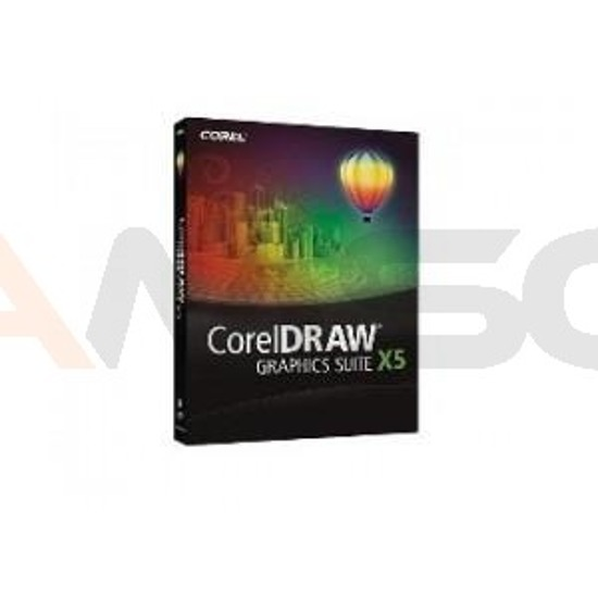 COREL DRAW Graphics Suite X5 PL UPG BOX