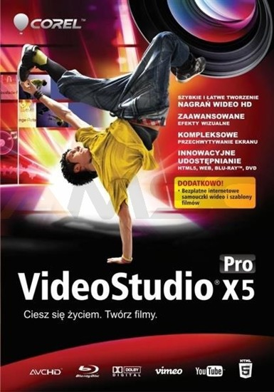 COREL VideoStudio Pro X5 Mini box