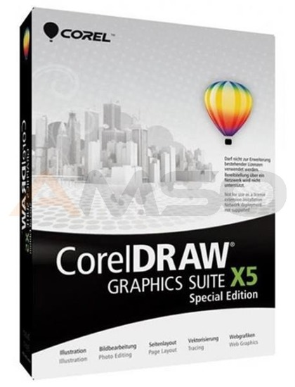 CorelDRAW Graphic Suite X5 SE PL