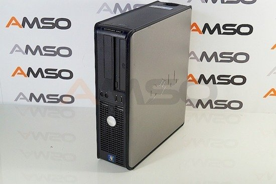DELL 580 AMD Athlon II X2 B22  2x 2.8GHz 4GB DDR3 250GB DVD eSATA DISPLAY PORT Windows 8.1 PL