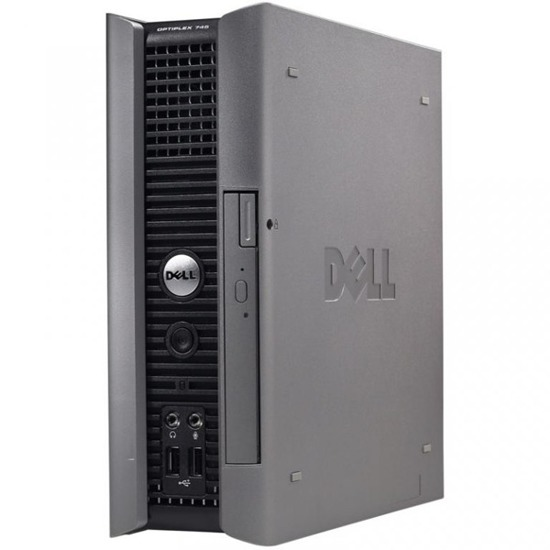 DELL 745 USFF C2D 6300 2x1.86/2GB/160/DVD Windows 7 Professional