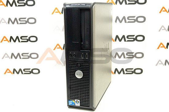 DELL 760 DT Core 2 Duo E8400 2x 3GHz 4GB 160GB DVD Windows 10 Home PL