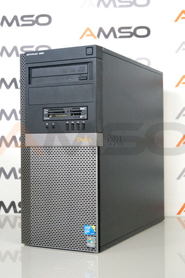 DELL 980 Tower i5-660 3,3/4GB/500GB DVD Win 7 Professional