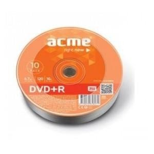 DVD+R ACME 4.7GB 16X Szpindel 10pack