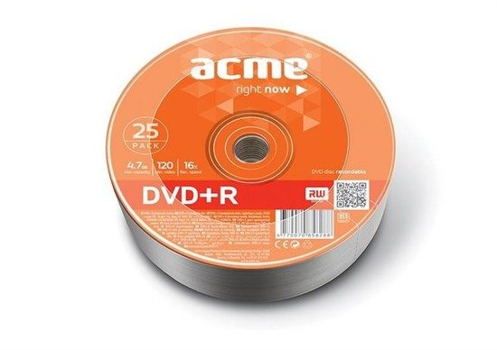 DVD-R ACME 4.7GB 16X shrink 25pack