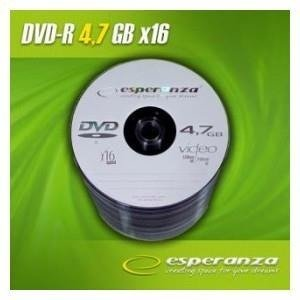 DVD-R ESPERANZA 16x 4,7GB (Spindle 100)
