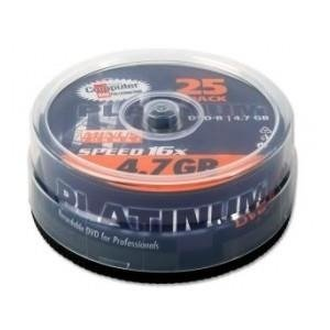 DVD-R PLATINUM x16 4,7GB (Cake 25)