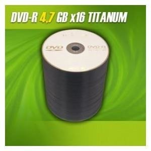 DVD-R TITANUM 16x 4,7GB (Spindle 100)