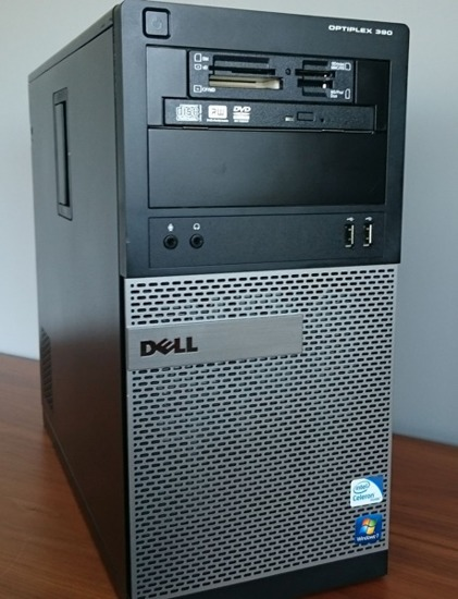 Dell 390 Tower G530 2x 2,4GHz/4GB DDr3/250/RW Win8.1