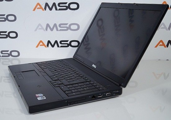 Dell M6400 C2D P8400 8GB 120GB RW Fx2700M FullHD Windows 7 Professional PL